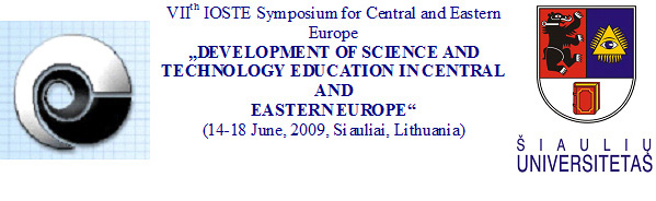 DEVELOPMENT OF SCIENCE AND TECHNOLOGY EDUCATION IN CENTRAL AND EASTERN EUROPE